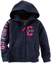 Osh Kosh Graphic Hoodie (Toddler/Kid) - Go For It-4T