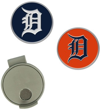 Unbranded Detroit Tigers Hat Clip & Ball Markers Set