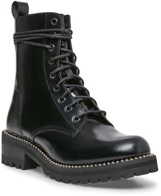 STEVEN NEW YORK Gardy Combat Boot