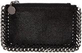Stella McCartney Black Falabella Card Holder