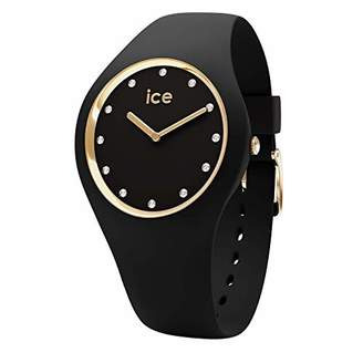 Ice Watch Ice-Watch - ICE cosmos Black Gold - Women's wristwatch with silicon strap - 016295 (Medium)