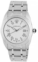 Versace Men's VFE040013 V-Spirit Analog Display Quartz Silver Watch