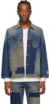 Reese Cooper Indigo Denim Chore Jacket