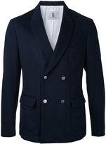 Kent & Curwen double breasted blazer - men - Polyamide/Virgin Wool - 44