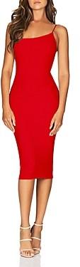 Nookie Penelope One-Shoulder Midi Dress - 100% Exclusive