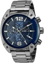Diesel Men's DZ4412 Overflow Gunmetal Watch