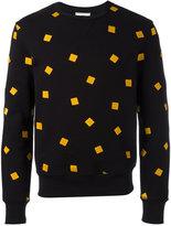 Ami Alexandre Mattiussi sweatshirt with square embroidery