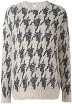 Brunello Cucinelli boucle knit jumper - women - Polyamide/Cashmere - L