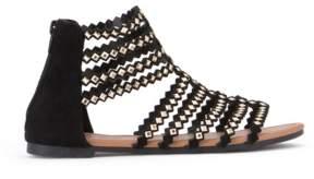OLIVIA MILLER Brooksville Diamond Shaped Studded Sandals Women's Shoes