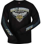 Harley-Davidson 115th Anniversary Mens Long-Sleeve Tee - Kadena AB | Stripe