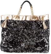 Dolce & Gabbana Sequined Shoulder Bag