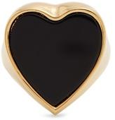 Chloé Stone-embellished heart signet ring