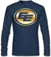 Sarah Men's Edmonton Eskimos Canadia Football Team Long Sleeve T-shirt XL