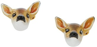 Burberry Deer Motif Cufflinks
