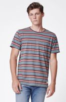 Modern Amusement Block Striped Pocket T-Shirt