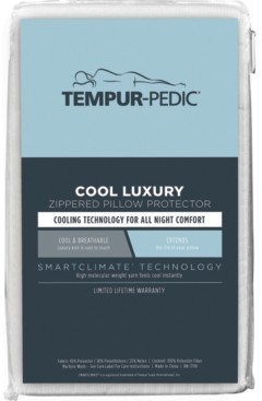 Tempur-Pedic Cool Luxury Zippered Pillow Protector, King