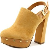Report Mylie Open Toe Canvas Platform Heel.