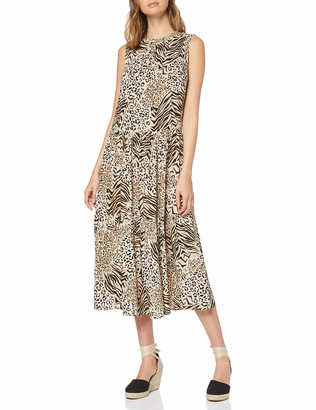 New Look Women's Mixed Animal Dress