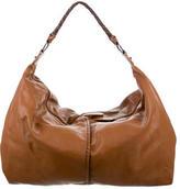 Carlos Falchi Large Leather Hobo