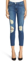 L'Agence Women's 'Marcelle' High Rise Cropped Skinny Jeans
