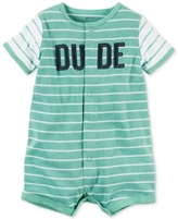 Carter's Striped Dude Romper, Baby Boys (0-24 months)