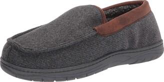 Haggar Men's Venetian Slipper Indoor/Outdoor House Shoe with Memory Foam Comfort Slipper