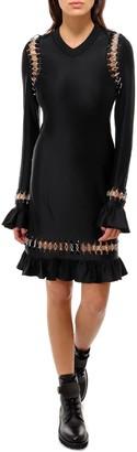Burberry Ring Embellished Mini Dress