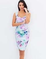 Lipsy VIP Lilac Print Shift Dress