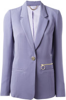 Versace one button blazer - women - Polyester - 40
