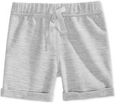 First Impressions Heathered Pull-On Shorts, Baby Boys (0-24 months), Created for Macy's