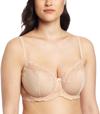 Paramour by Felina Women's Stripe Delight Unlined Full Figure Bra