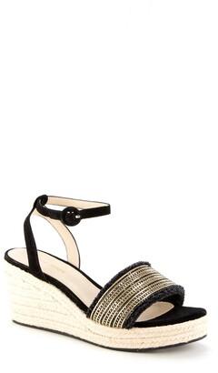 Pelle Moda Ankle Strap Wedge Sandal