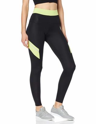 Aurique Amazon Brand Women's Colour Block Sports Leggings