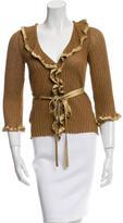 Alberta Ferretti Knit Linen Sweater