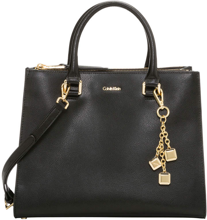 Calvin Klein Logan Double Handle Satchel H8ADR7ZF_BGD