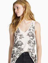 Lucky Brand Placed Floral Tank