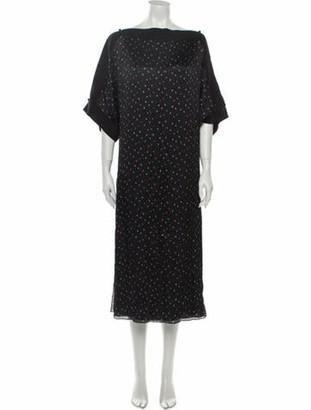 Grey By Jason Wu Silk Long Dress w/ Tags Grey
