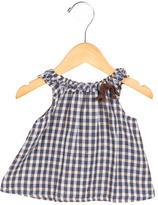 Bonpoint Girls' Sleeveless Checkered Top
