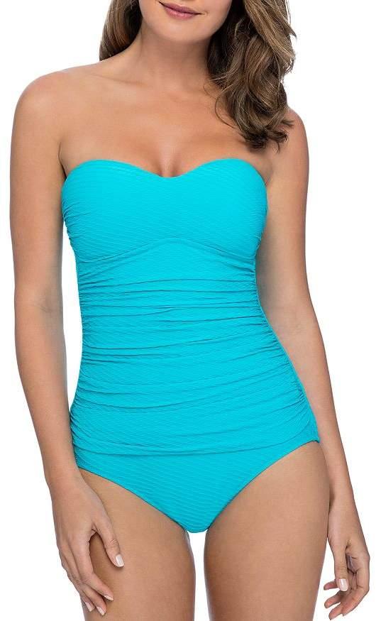 636d1c7a2fa Gottex Bandeau Swimsuit - ShopStyle