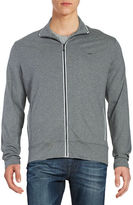Michael Kors Heathered Zip Up