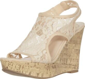 Fergie Womens Vandalia Rosey Strappy Sandals 10 M