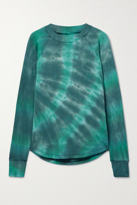 Splits59 Warm Up Tie-dyed Stretch-modal Sweatshirt - Green