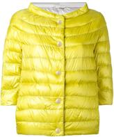 Herno shortsleeved down jacket - women - Polyamide/Goose Down - 48