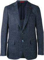 Isaia two button blazer - men - Silk/Linen/Flax/Cupro/Wool - 48