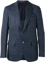 Isaia two button blazer - men - Silk/Linen/Flax/Cupro/Wool - 52