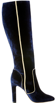 Boden Icons Adele Knee High Boots, Navy