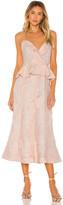 Keepsake Offset Midi Dress