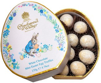 Charbonnel et Walker Peter Rabbit White Chocolate Mini Easter Egg Shaped Truffles 135G