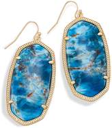 Kendra Scott Danielle Statement Earrings in Aqua Apatite