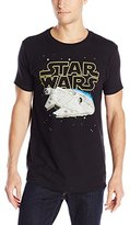Star Wars Men's Falcon Squared Short Sleeve T-Shirt